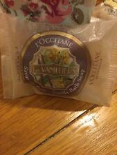 L'Occitane Savon d'Bain Vanilliers. Bath Soap Vanilla. 50g. Rare. Discontinued.