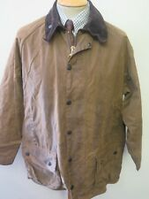 """Barbour A821 Moorland Waxed jacket - L 42"""" Euro 52 in Sand"""
