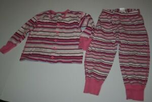 Used Hanna Andersson Girls 90 3 Year 2 Piece Wiggle Pants & Cardigan Top