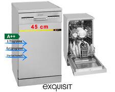 Exquisit 0610198 GSP 9109.1si Geschirrspüler freistehend D