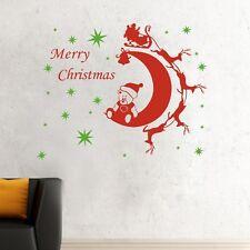 Merry Xmas Removable Reindeer Star Wall Art Sticker Vinyl Decal Decor Kids DIY