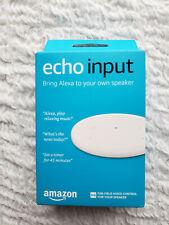 Amazon Echo Input  White Sealed New In Box