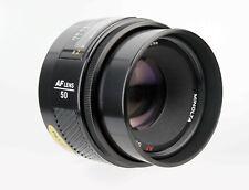 Minolta AF Objektiv 50mm 1:1,7 für Sony Alpha Digitalkameras. 21108350