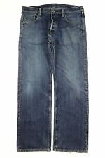 Men's Iron Heart Jeans 21 oz Extra Heavy Denim Selvedge Size 38x31 Zipper Fly