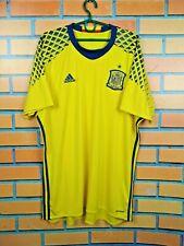 Spain Goalkeeper Jersey 2015 2016 Shirt XL Adidas Football Soccer AI9164