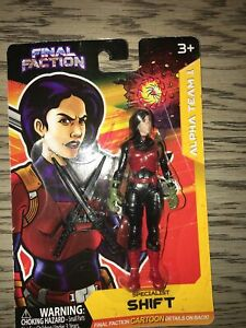 "NEW Final Faction Alpha Team 1 Shift Series 1 Action Figures ~  4.5"" Tall"