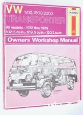 Haynes Volkswagen Transporter (VW Bus) Workshop Manual 1972-79