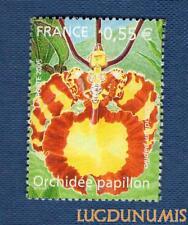 N°3765 - Orchidée Papillon TIMBRE NEUF FRANCE 2005