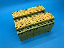 Pilz PNOZ X3 Safety Relay,Dual Channel, $200 at lot of 5