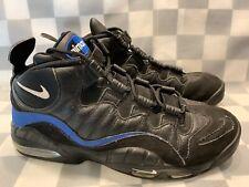 NIKE Air Max Sensation Chris Webber Men's Shoe Size 10 Black Blue 805897-002