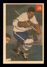1954-55 Parkhurst #28 Bob Bailey EX+ X1316483