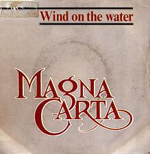 MAGNA CARTA-WIND ON THE WATER + MIDNIGHT BLUE SINGLE VINILO 1983 PROMOCIONAL