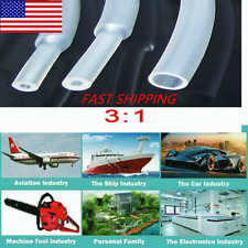 5 20ft 18 1 Clear 31 Heat Shrink Tubing Glue Lined Marine Grade Waterproof