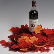 120pcs/pack Artificial Maple Leaf Silk Vine Wedding Home Garland Decor BS