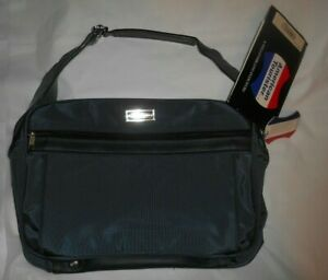 """Vintage American Tourister Cross Country Plus 2618  Blue 18"""" Shoulder Tote - NWT"""