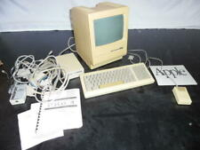 Vintage Apple Macintosh Plus 1MB M0001A Computer with Keyboard, Mouse, Drive etc
