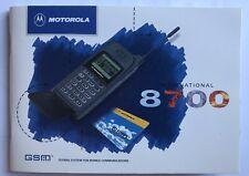 Motorola 8700 - Libretto istruzioni