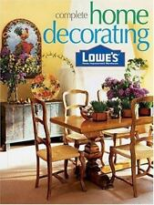 Lowes Complete Home Decorating (Lowe's Home Improvement), , 0376012536, Book, Go