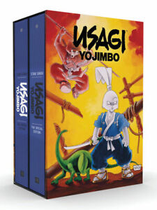 USAGI YOJIMBO THE SPECIAL EDITION 2 VOL. BOXED SET SEALED FANTAGRAPHICS RARITY!!