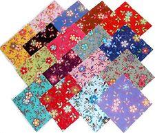 "17 10"" Quilting Fabric Layer Cake Squares Beautiful ""Happy"" !!! NEW ITEM"