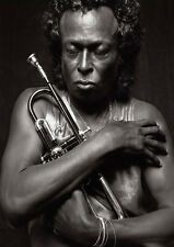 "Reproduction ""Miles Davis"" Poster, Jazz, Wall Art, Vintage Print"