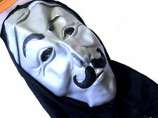 Halloween Mask Hooded Guy Fawkes Anonymous Adult Size