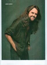 METALLICA happy Lars magazine PHOTO / mini Poster 11x8 inches