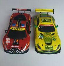 Carrera Go!!! 1:43 Mercedes GT GT3 + Ferrari 488 GT3 Auto Set Slotcar Bahn NEU