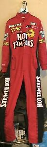 Simpson Drivers Fire Suit #15 DERRICK GILCHRIST NASCAR Racing/ BUSCH RACE used