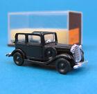 Brekina H0 1102 OPEL P4 Limousine Offen Schwarz OVP Oldtimer PKW HO 1:87 Box
