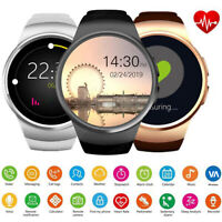 Wireless Smart Wrist Watch SIM Phone Mate for Android IOS Samsung LG iPhone