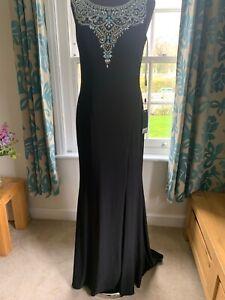 Prom Dress 1013023 by Dynasty London, Black UK 10