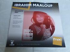 IBRAHIM MAALOUF - DALIDA !!!!!!!!!PLV 30 X 30 CM !!INSTORE PAPER DISPLAY