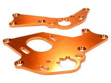 C26303ORANGE Integy Billet Machined Motor Mount Plates for HPI 1/10 Sprint 2