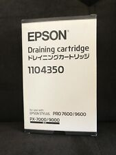 *~Epson*~Draining cartridge*~1104350*~Epson stylus*~PRO 7600/9600*~
