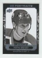 (72312) 2014-15 UPPER DECK PORTRAITS WAYNE GRETZKY #P-41