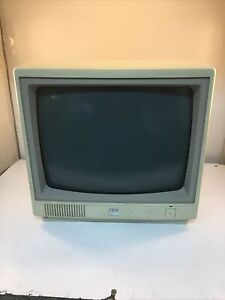 IBM PC Jr color display model 4863 SOLD AS IS