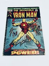 INVINCIBLE IRON MAN #47, BARRY SMITH, 1972 Bronze Age ORIGIN OF IRON MAN RETOLD