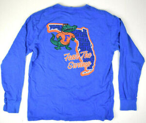 Rare Vintage early 90s Florida Gators Fear the Swamp T-Shirt M 1992-95 Top Tier