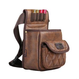 Tourbon Cartridges Pack Hunting Shell Hold Waist Bag Skeet/Trap Shooting Vintage