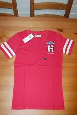 BNWT Hollister Applique Logo Graphic Women's Red Tee - Size US XXS/ AUS XS