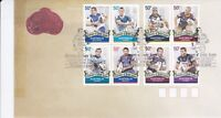 AFD242) Australia 2008 Centenary Of Rugby League - Set FDC