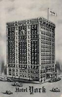 NEW YORK CITY – Hotel York (7th Avenue at 36th Street) - 1945