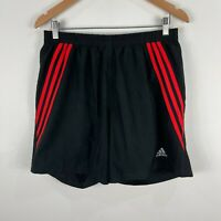 Adidas Mens Shorts Large Black Elastic Waist Drawstring
