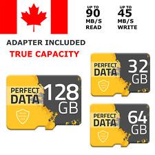 Micro Memory SD Card 32 64 128 GB High Speed Flash TF Class 10 32GB 64GB Adapter