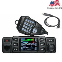 AnyTone AT-778UV 25W Dual Band 136-174 & 400-480MHz Two Way Radio + USB cable