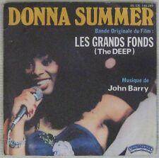 Les Grands fonds 45 tours John Barry Donna Summer 1977