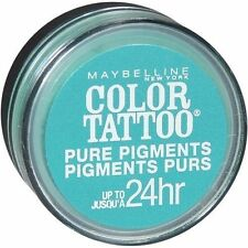 MAYBELLINE COLOUR TATTOO PURE PIGMENT LOOSE EYE  SHADOW 5 NEVER FADE JADE