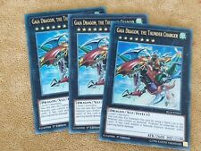 BLLR-EN065 GAIA DRAGON, THE THUNDER CHARGER Ultra Rare 1st Edition X3 PLAYSET