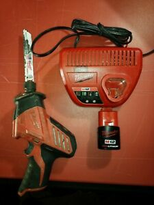 Milwaukee M12 Hackzall Reciprocating Saw (2420-20) With Charger And Battery